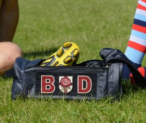 Personalised Blue Boot Bag - mens
