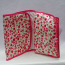 Oilcloth Folding Wash Bag Ditsy Floral