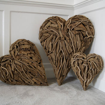 Driftwood Heart 'Designed By'