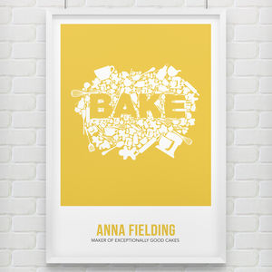 'Bake' Print - view all sale items