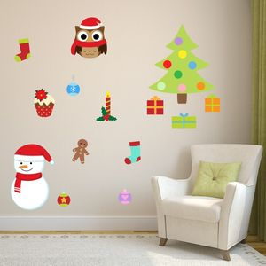 Removable Christmas Wall Stickers - christmas home accessories