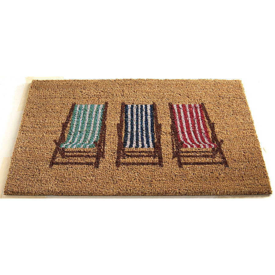 Coir Doormat Torquay Deck Chair By Garden Selections