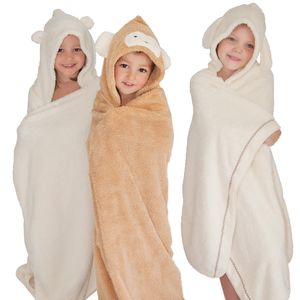Children's Animal Towel - bathtime