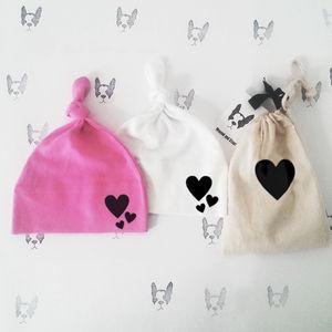 Hearts Knot Hat - babies' hats