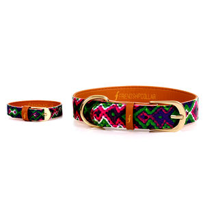 All Bark No Bite Dog Collar And Matching Bracelet