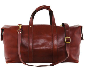Leather Holdall - bags & purses