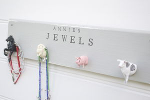 Bedroom Or Jewellery Hooks - jewellery storage & trinket boxes