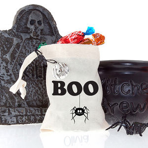 Halloween Boo Favour Bag - trick or treat bags