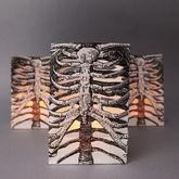 Halloween Skeleton Ribcage Lantern Bags - halloween