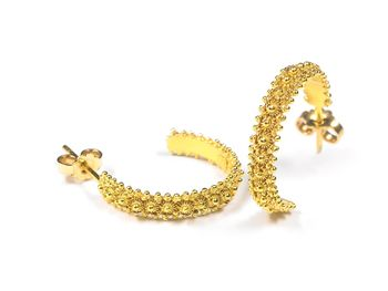 Gold Fedele Venti Loop Earring
