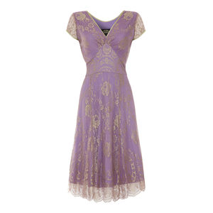 Special Occasion Lace Dress In Orchid Pink Lace