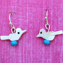 Shell Birdy Earrings