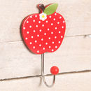 Red Apple Wall Hook