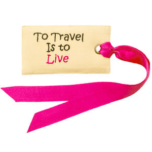 Bright Luggage Tags Free Delivery