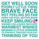Get Well Soon Sentiments Card