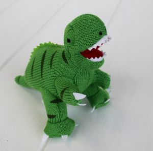 Mini Green T Rex Dinosaur Rattle