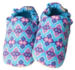 Mosaic Baby Shoes