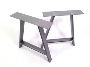 Dining Pedestals In Industrial Steel A Frame Design - kitchen