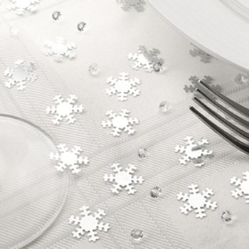 Snowflake Christmas Table Decoration