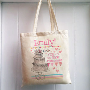 Personalised Bridesmaid Bag - bags & purses