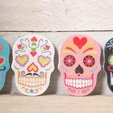 Mexican Skull Emery Board - halloween