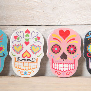 Mexican Skull Emery Board - stocking fillers