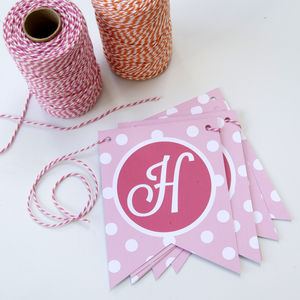 Personalised Spotty Baby Bunting - baby & child