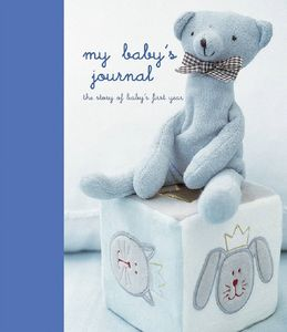 My First Year Blue Baby Journal