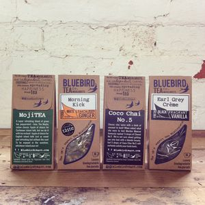 Bluebird Tea Parcels - teas, coffees & infusions