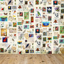 Vintage Postage Stamp Wallpaper