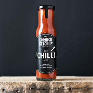 Chilli Cornish Ketchup - sauces & marinades