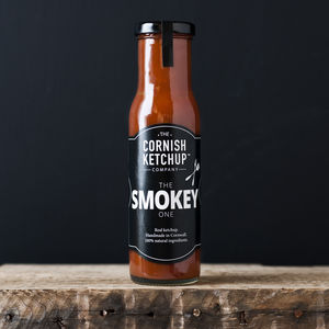 Smokey Cornish Ketchup - trick or treat food