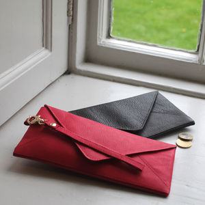 Love Letter Envelope Leather Purse