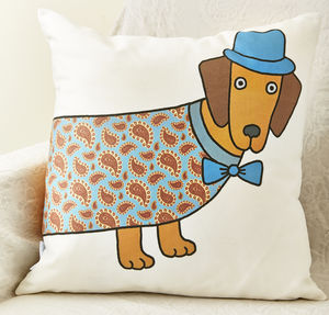 Larry The Long Dog Cushion - cushions