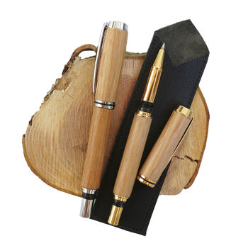 Morley Recycled Wood Rollerball Pen