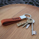 Brompton: Handmade Leather Key Ring