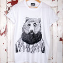 Bearded Bear T Shirt