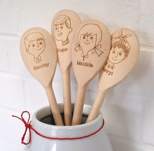 Personalised Wooden Spoon - 100 less ordinary gift ideas