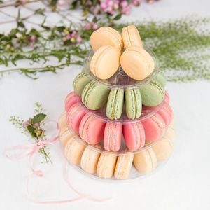 Four Tiers Macaron Tower