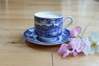 Broadhurst Willow Vintage Teacup Candle