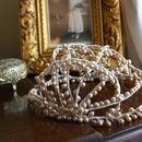 Vintage 1930s Wax Bridal Headpiece