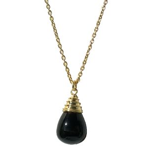Smoky Topaz Necklace Drop Pendant - necklaces & pendants