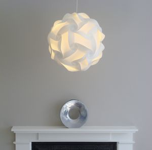 Ceiling and table lampshades notonthehighstreet smarty lamps cosmo geometric ball light shade lampshades mozeypictures Gallery