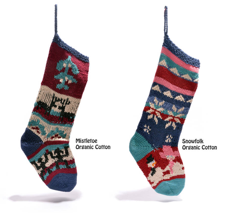 Christmas Knitted Stocking