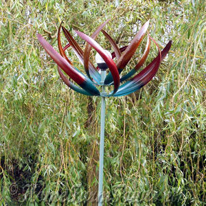 Tresco Wind Sculpture With LED Light