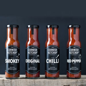 Cornish Ketchup Collection - brand new sellers