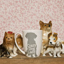 Crazy Dog Lady Bone China Mug With Free Dog Hair
