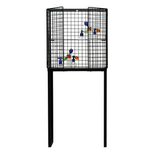 Wire Mesh Cabinet In Black Or White