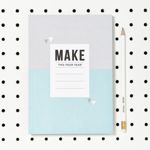 'Your Year' A5 Notebook Journal