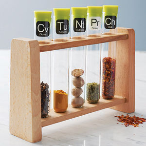 Scientific Spice Rack - 100 less ordinary gift ideas